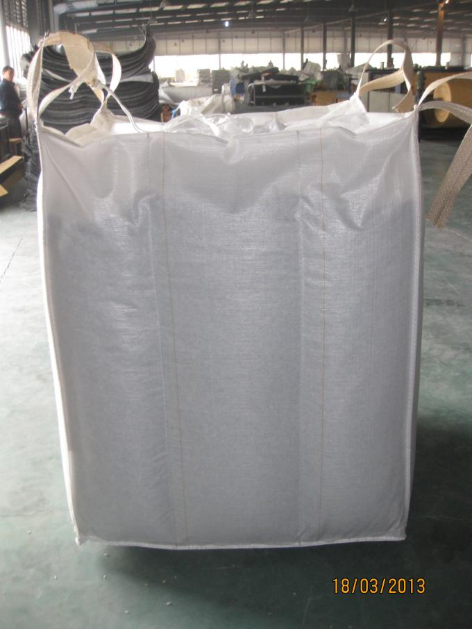 Baffle Square Cube Bag Stock For Flour Carbons Chemical