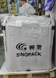 China Conductive Fibc NEL/SGS TYPE C Bag , Anti Static Bags Flammable Goods Bulk Packing supplier