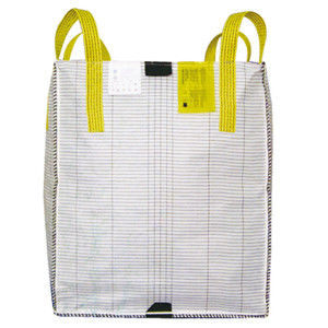 Baffle Conductive Big Bag , Large Anti Static Bags With Pp Fabric