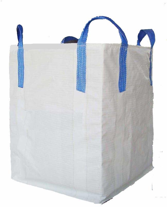 circular tubular half cross corner pp woven big bag fibc super sack. Black Bedroom Furniture Sets. Home Design Ideas
