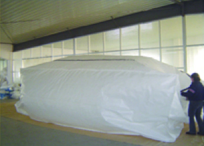 Pp Pe Container Liner Bags 20 Ft Or 40 Ft For Bulk Cargo
