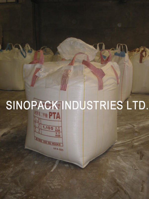 Pta Packing Big Bag Fibc Four Panel Bulk Pellet Big Bag Circular