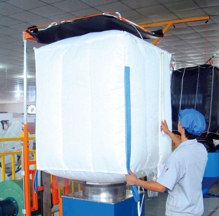 China PP Material Industrial Food Grade FIBC Big Bags For Rice / Flour /  Food Supplier